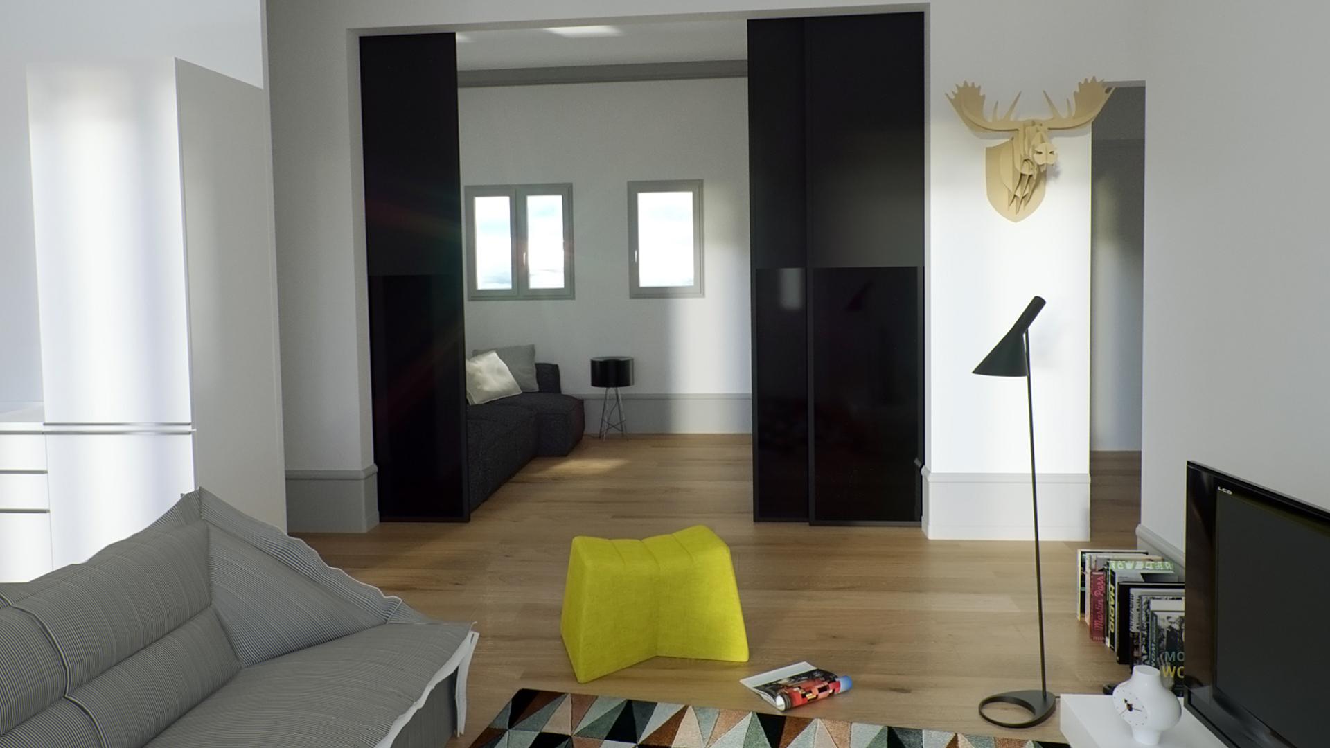 Appartements refaits à neuf