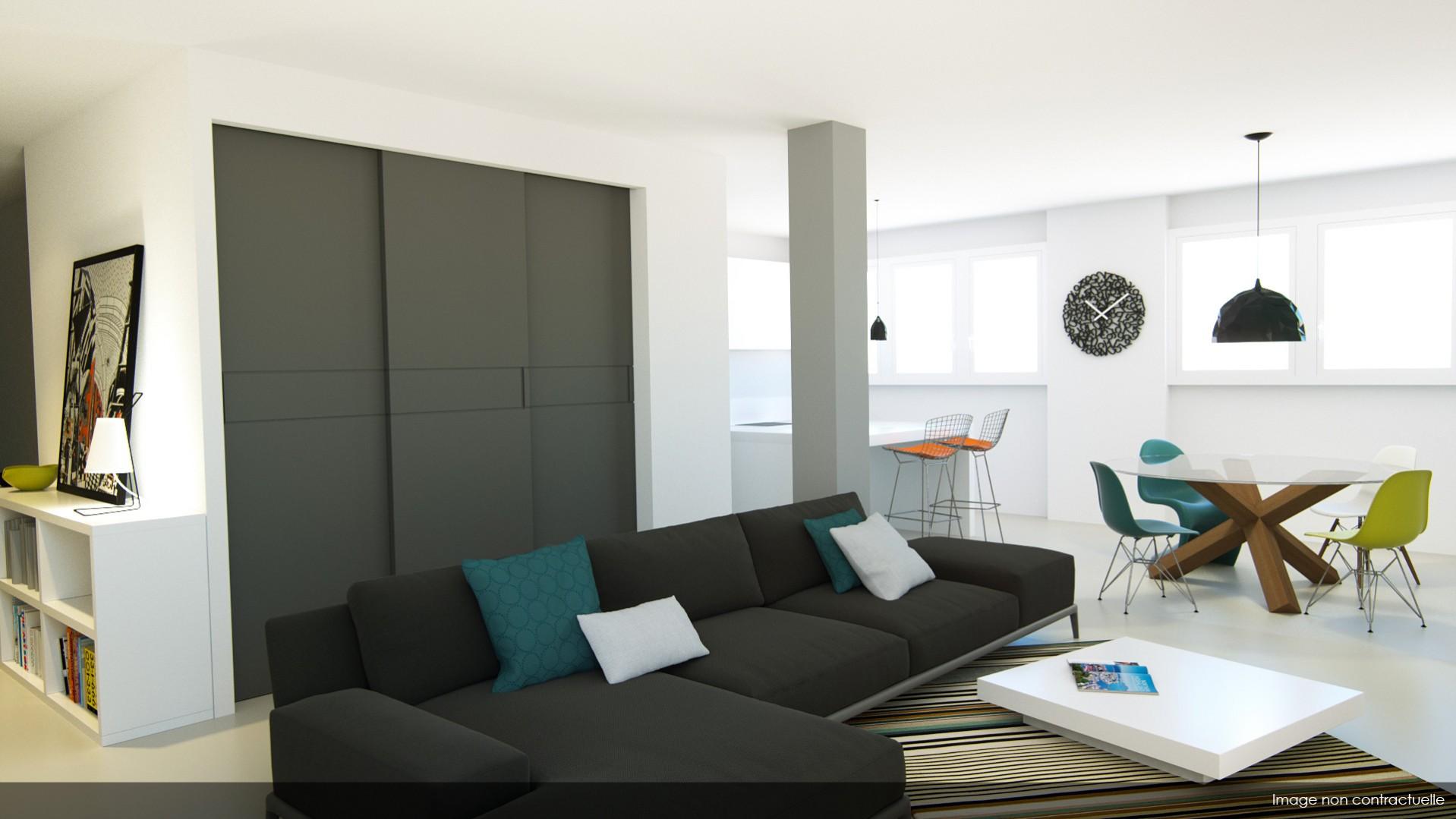 Vue T5 Bonlieu appartement vente