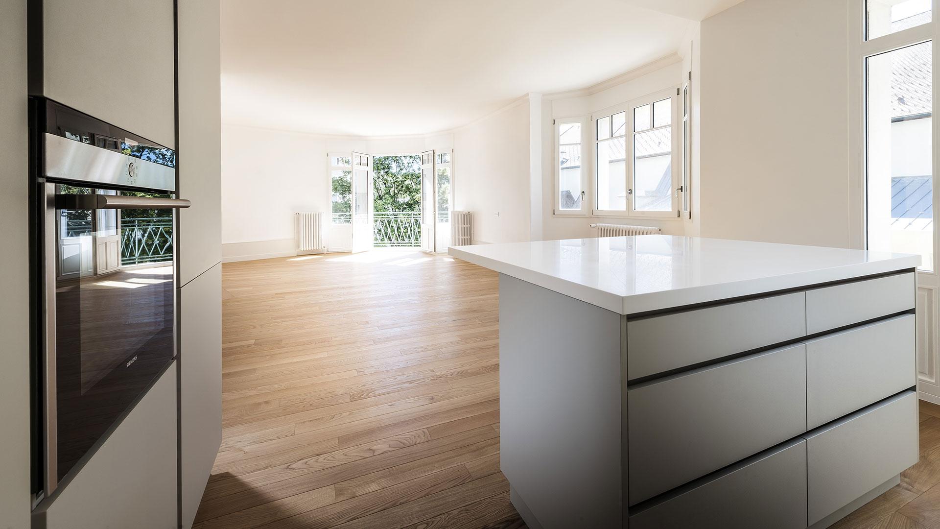 vente d'un appartement T4 haut de gamme hyper centre ville d'Annecy grande surface